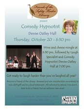 Comedy Hypnotist at the SHPL