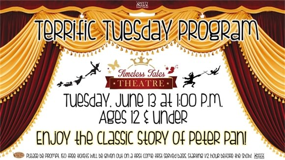 Terrific Tuesday Program: Timeless Tales