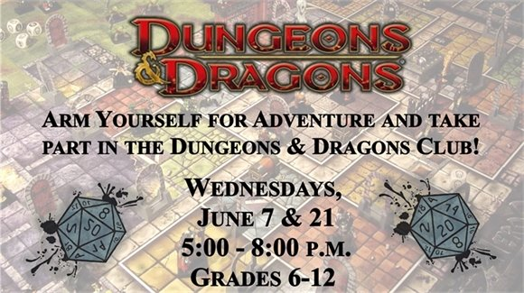Teen Dungeons & Dragons Club