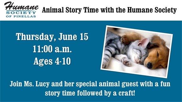 Humane Society Story Time