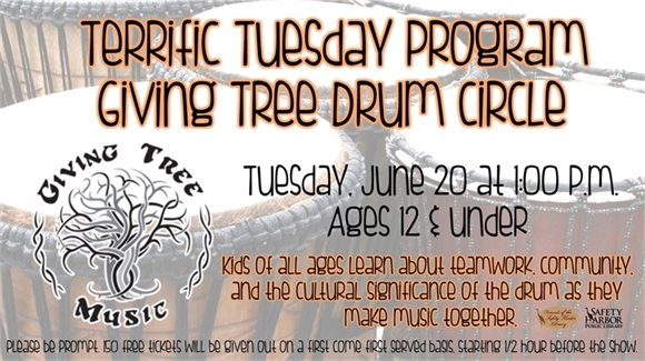 Terrific Tuesday Program: Giving Tree Drum Circle