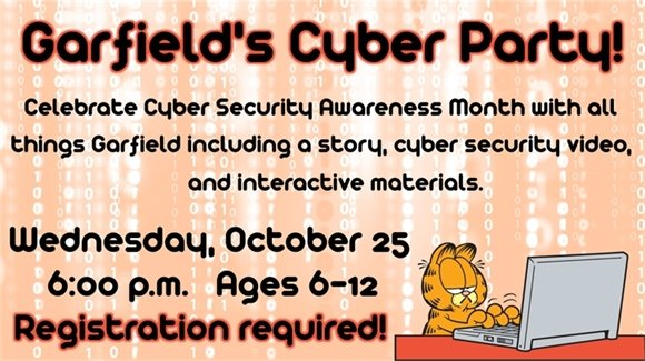 Garfield's Cyber Party