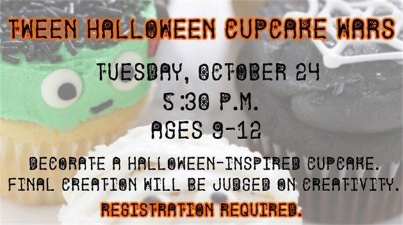 Tween Halloween Cupcake Wars