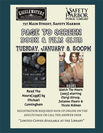 Page to Screen Book & Film Club