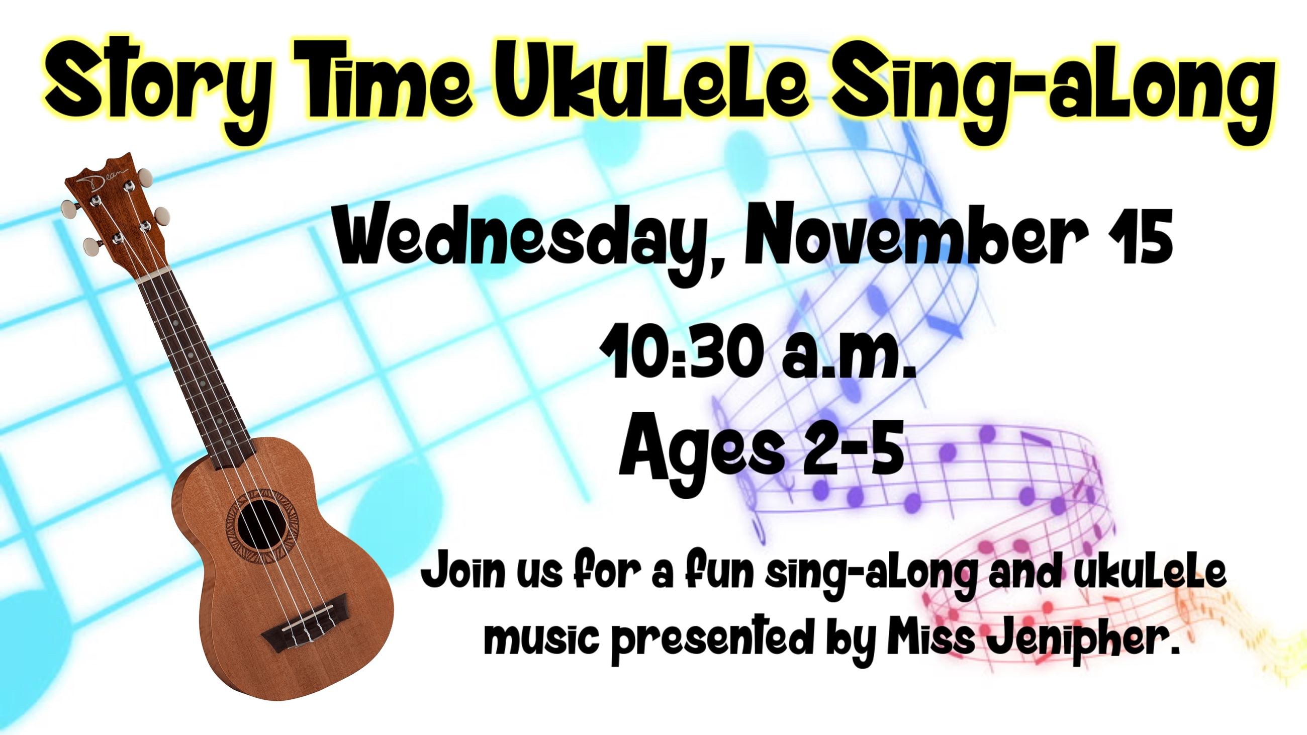 Story Time Ukulele Sing-along