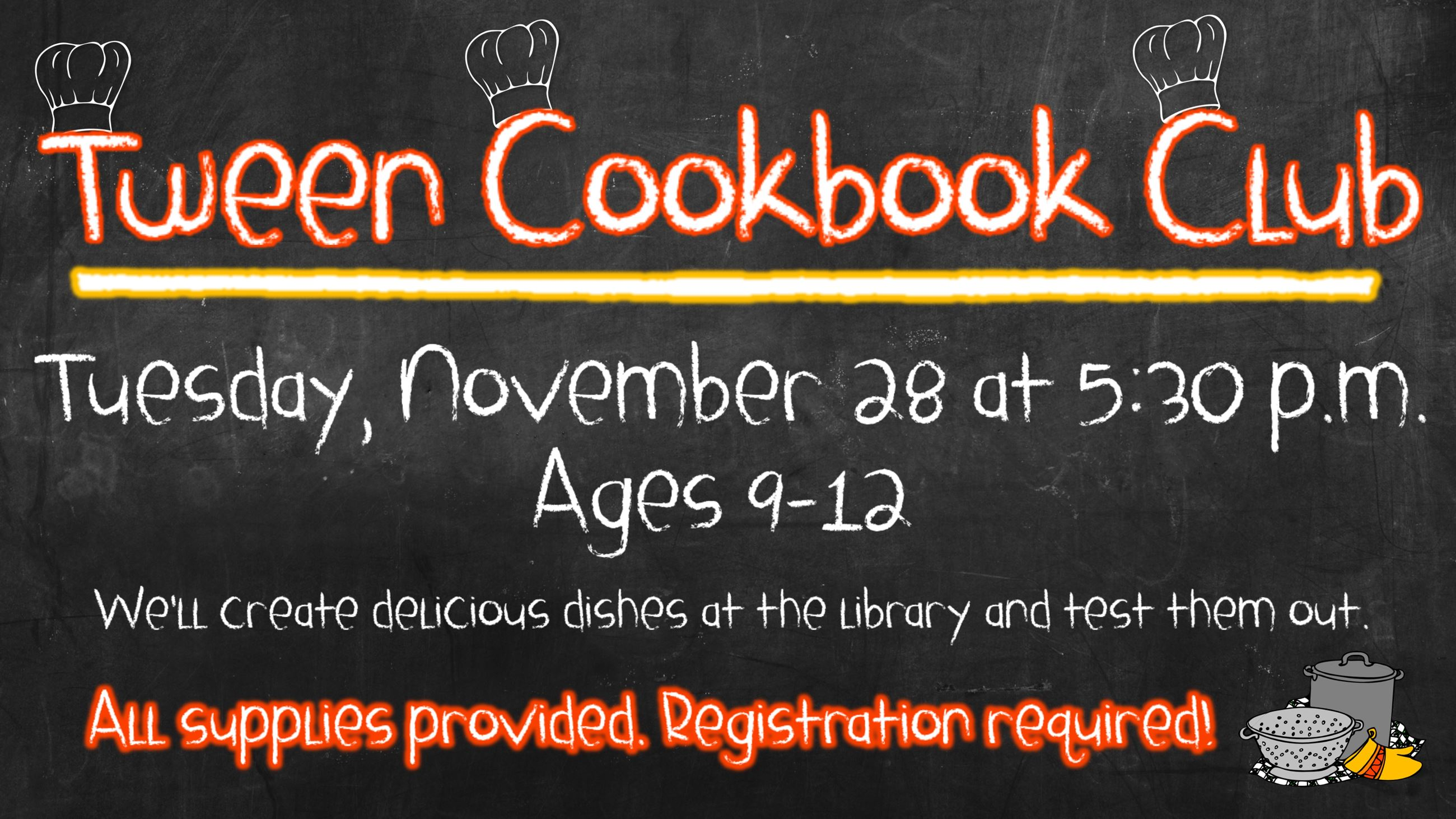 Tween Cookbook Club