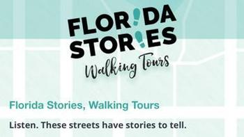 Florida Stories Walking Tour Logo