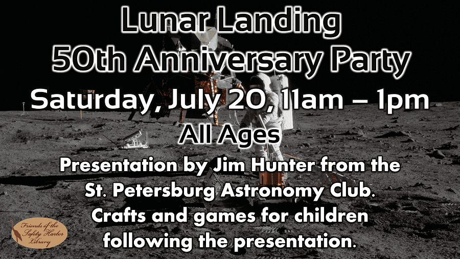 Lunar Landing Party (All Ages) - Saturday, July 20, 11am-1pm