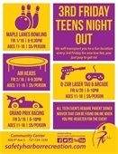 3rd Friday Teens Night Out