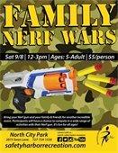 Family Nerf Wars
