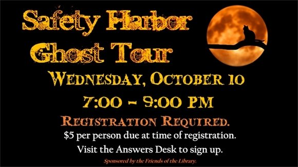 Safety Harbor Ghost Tour