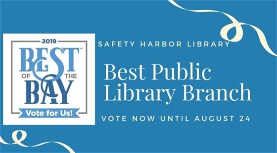 Best of the Bay 2019 Vote Now for Best Public Library Branch