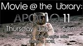 Movie at the library: Apollo 11