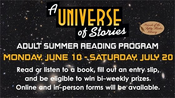 A Universe of Stories Adult Summer Reading Program