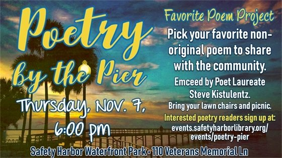 Poetry by the pier
