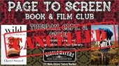 Page to Screen Book and Film Club is Cancelled