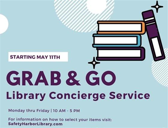 Grab & Go Library Concierge Service
