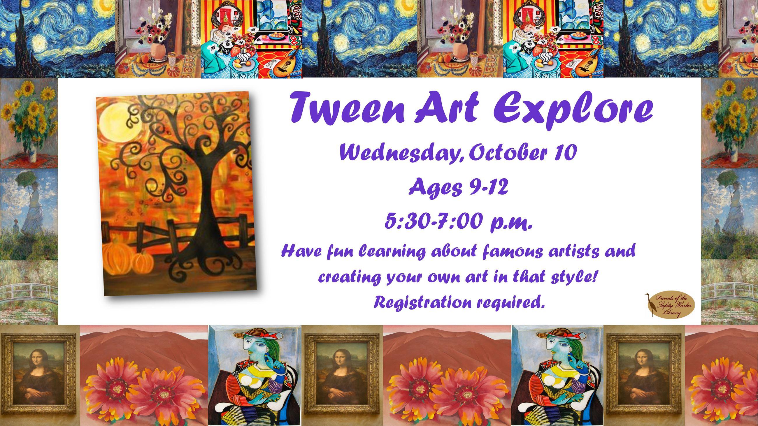 Tween Art Explore