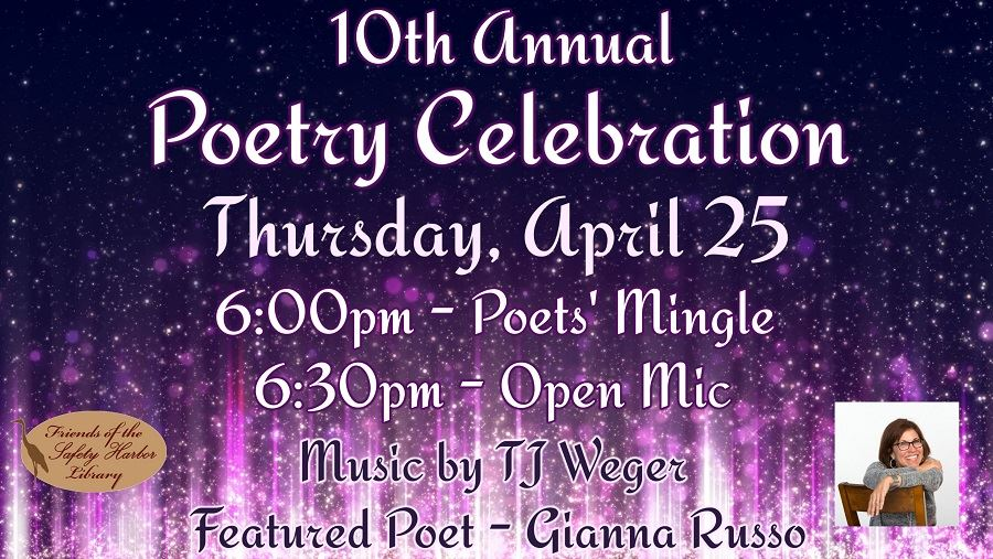 10th Annual Poetry Celebration - Thursday, April 25, 6pm