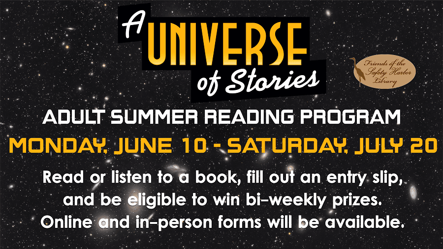Universe of Stories Adult Summer Reading - June 10th - July 2oth