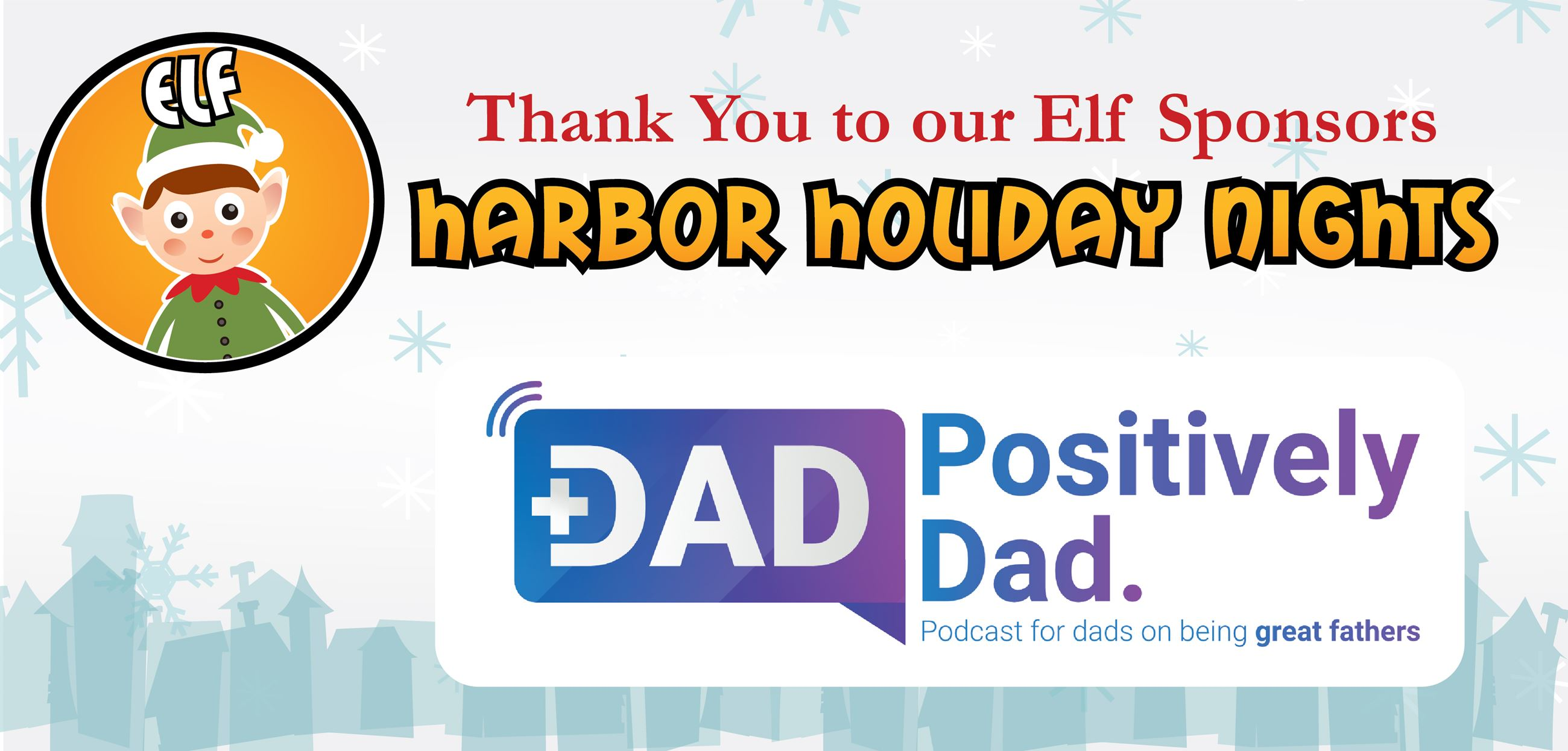 Thank you Elf Sponsors: Harborside Christian Church, Weiss Family Trust, and Freedom Boat Club of Ta